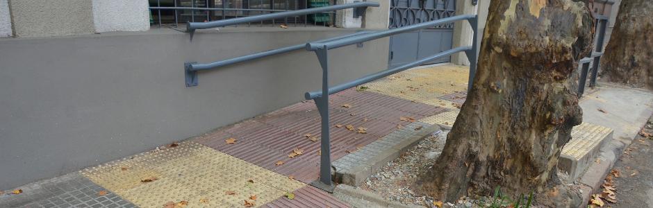Entrada accesible